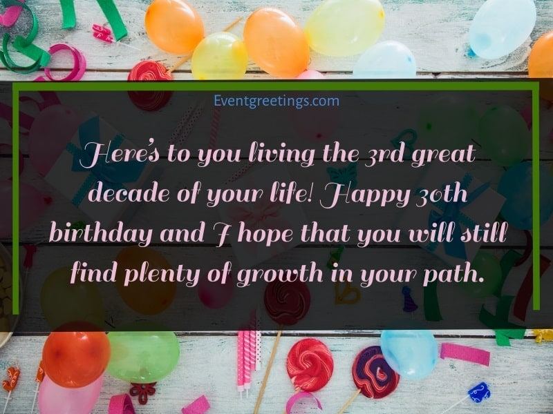 30th birthday quotes