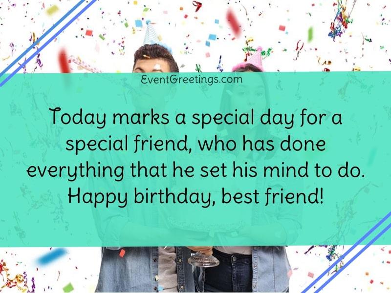 Happy Birthday To My Best Friend