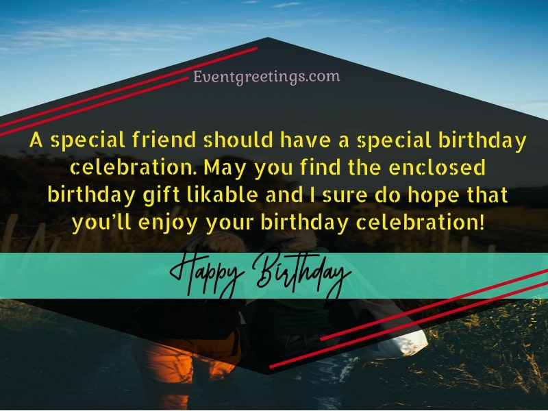 Happy Birthday Quotes For Special Friend