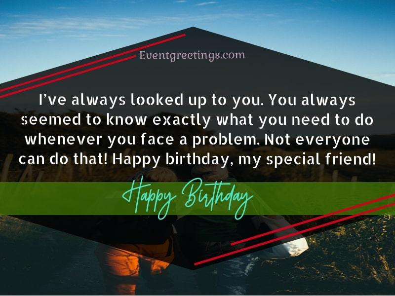 Happy Birthday To My Special Friend