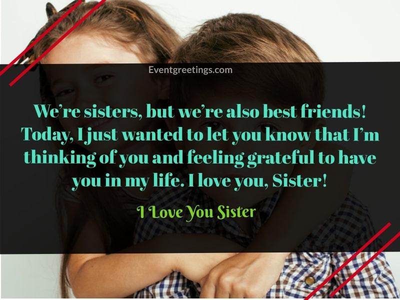 I Love You Sister