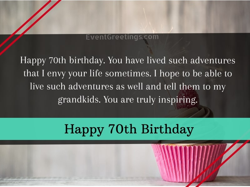 70th Birthday Quotes