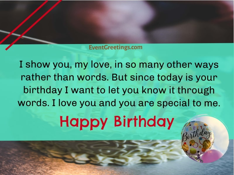 Birthday Messages For Girlfriend
