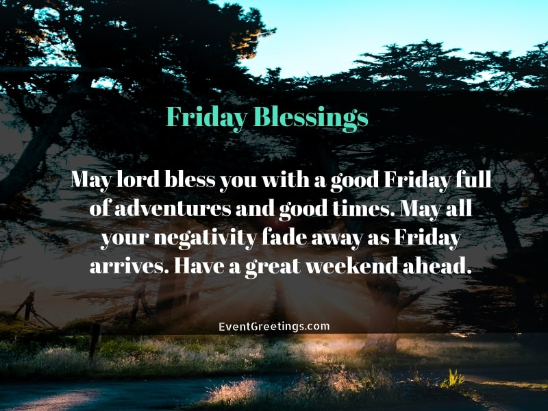 Friday Blessings Images