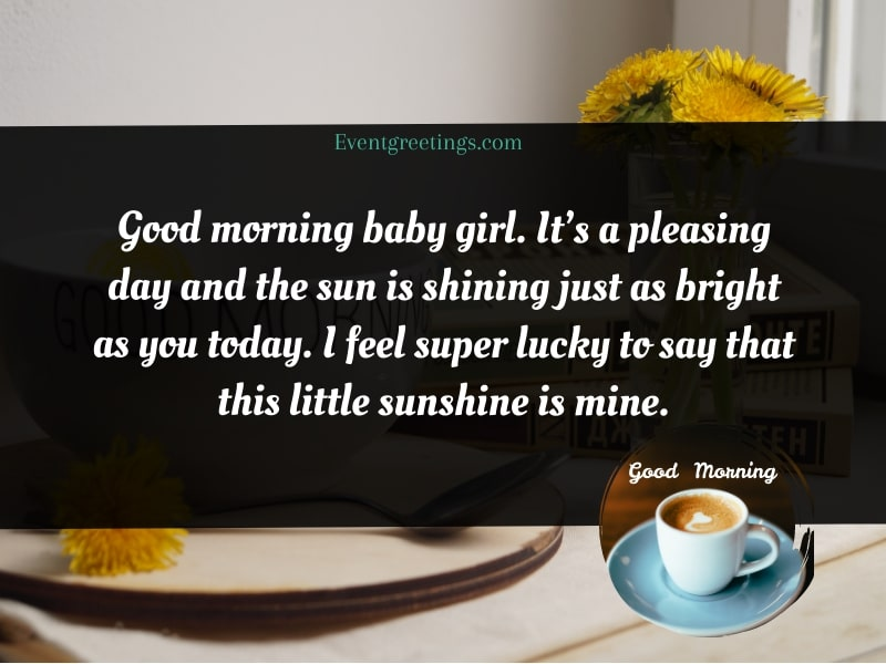 Flirty Good Morning Text For Her