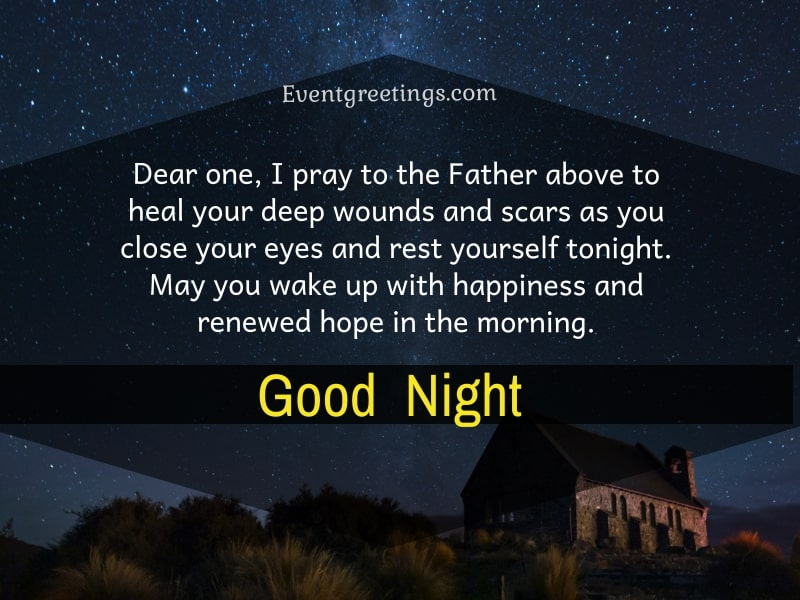 Good Night Prayer For Her
