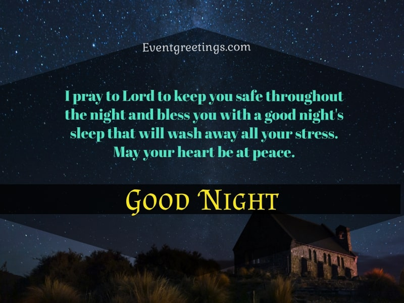 Good Night Prayer For Him