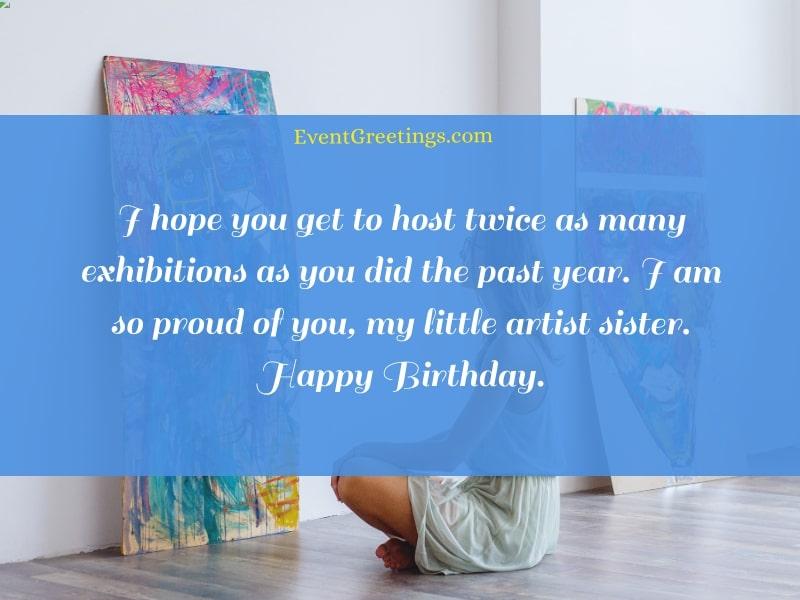 Happy birthday artist quotes