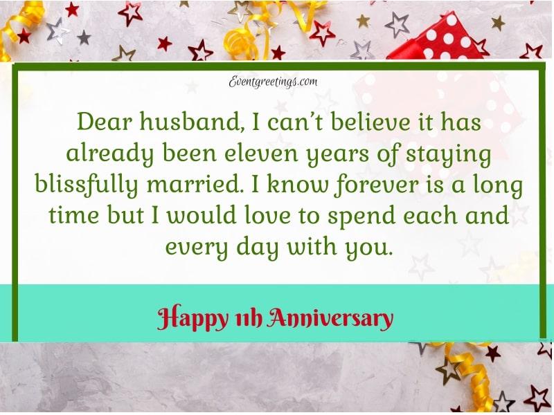 11 Year Anniversary
