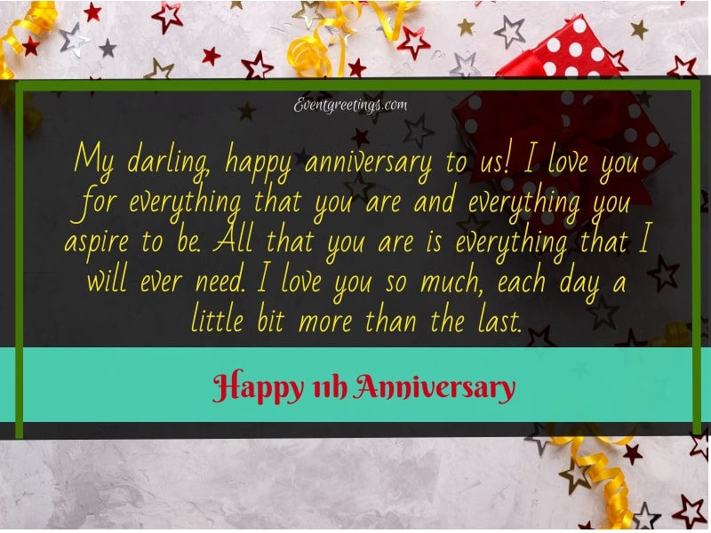 Happy 11th Anniversary