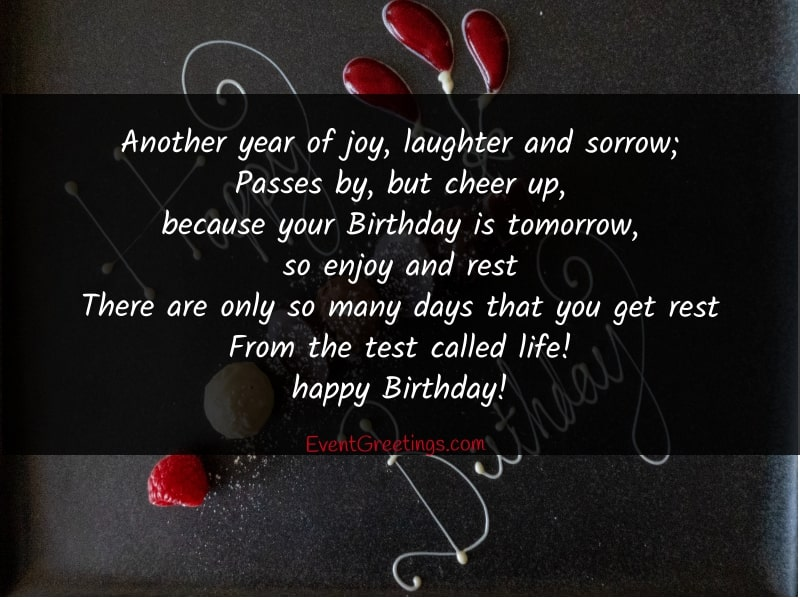 20 Best Birthday Poem For Friend Events Greetings Share the best gifs now >>>. 20 best birthday poem for friend