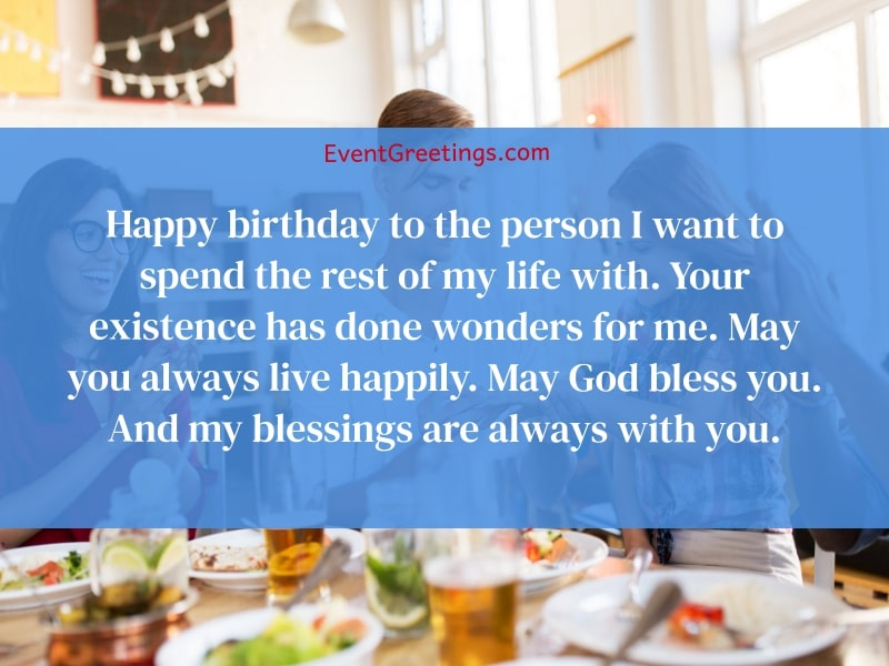Birthday wishes for fiance