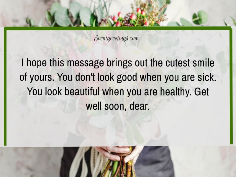 Get well soon text message