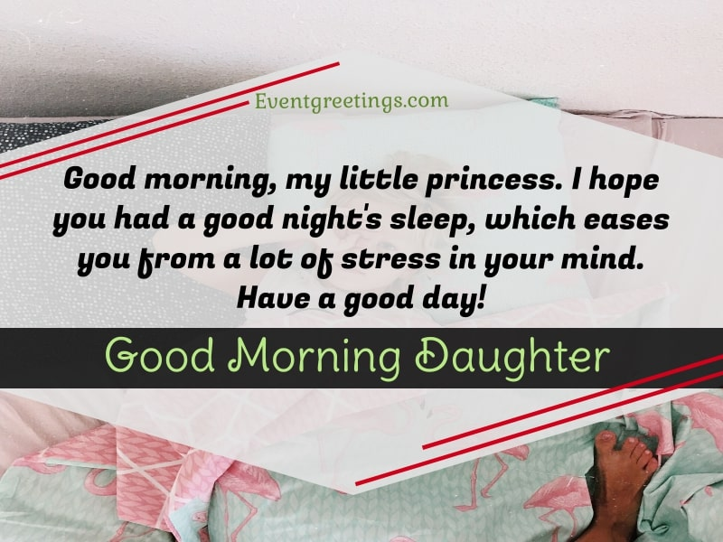 Good morning my daughter quotes