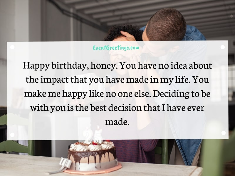 Happy birthday fiance messages
