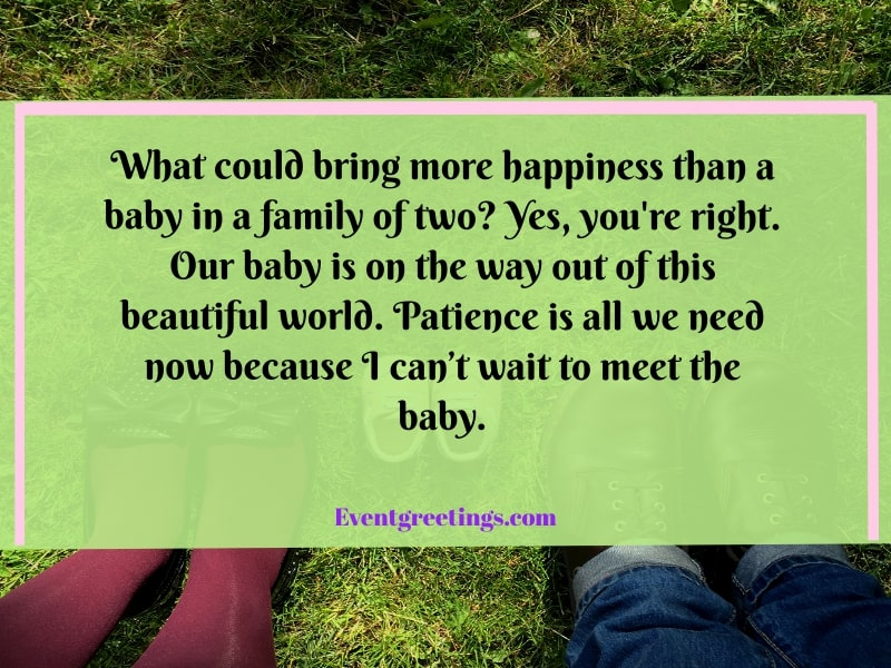 Quotes About Pregnancy Announcement