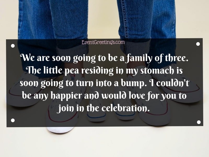 Quotes For Pregnancy Announcement
