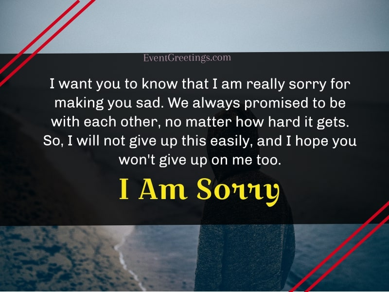I'm Sorry Quotes For Him