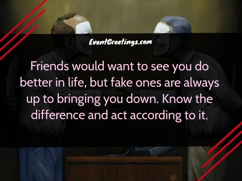 quotes about two-faced fake friends