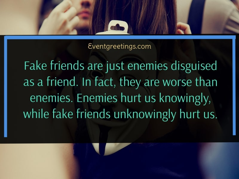 Two-faced fake friends quotes