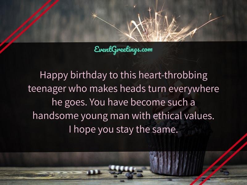 Happy Birthday Teenager Quotes