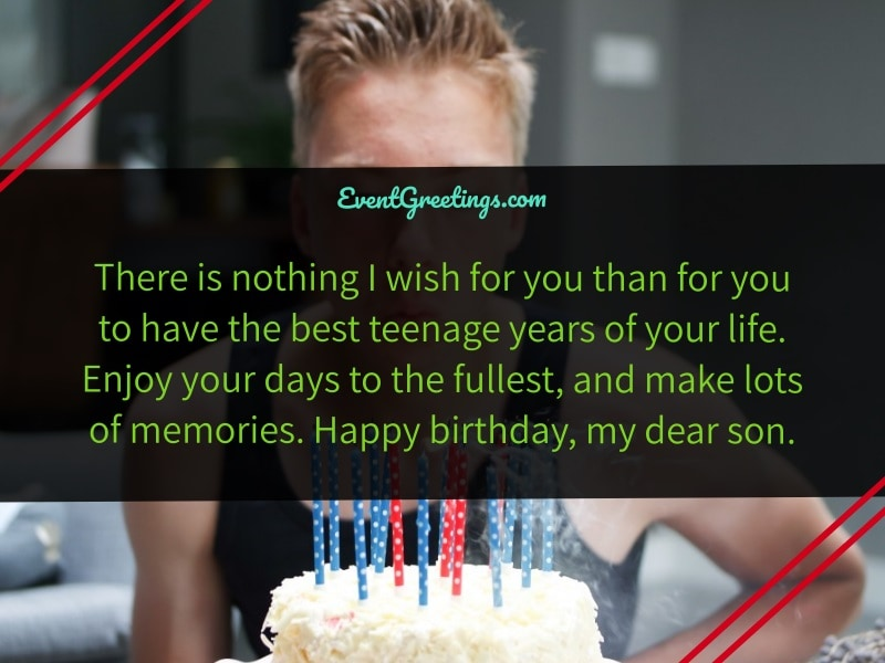 Birthday Wishes for Teenager