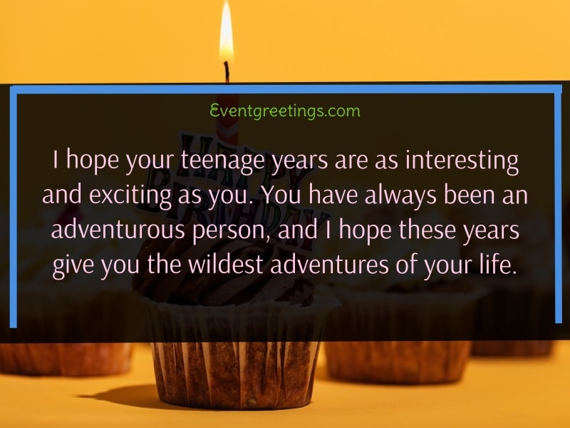 Happy Birthday Quotes for Teenager