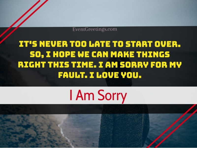 I'm Sorry Quotes for Boyfriend