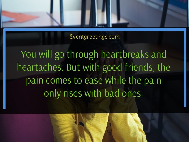 Quotes on Selfish Bad Friends