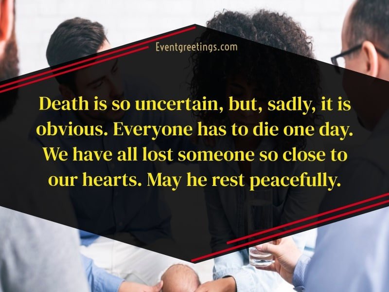 Condolences quote to coworker