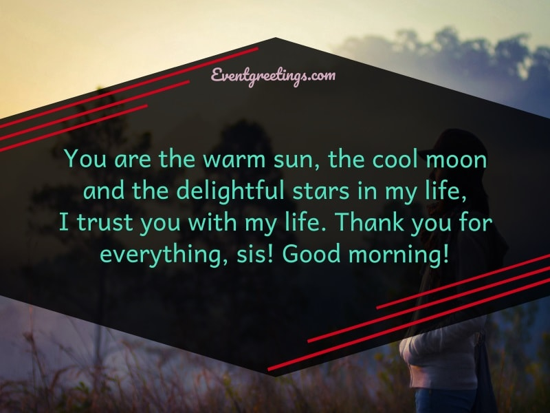 Good Morning Sister