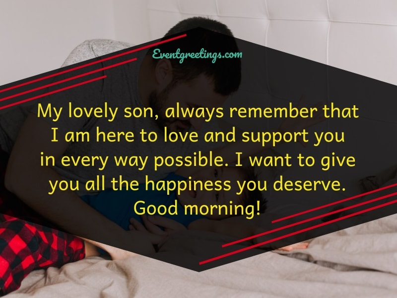 Good Morning My Son Images