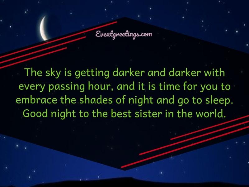 Good Night Sister