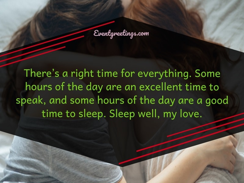 Good Night Sister Quotes