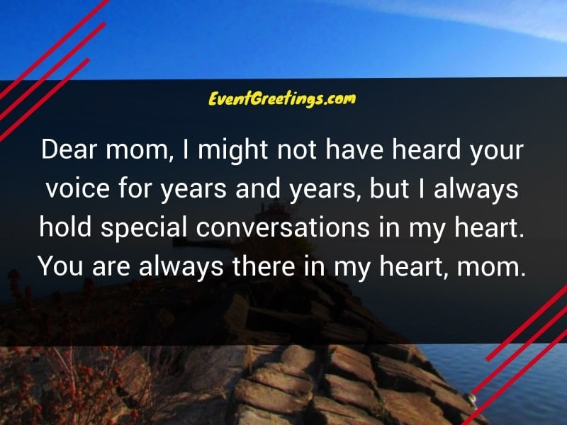 Quotes on Miss You Mom