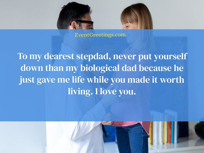 Stepdad quotes from daughter