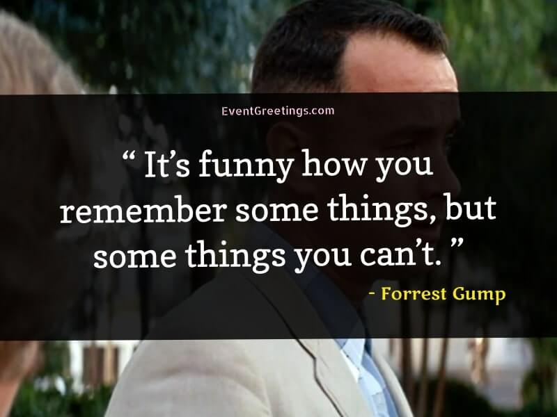Famous Quotes by Forrest Gump