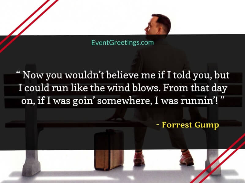 Forrest Gump Running Quotes