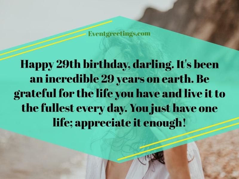 happy 29th birthday wishes