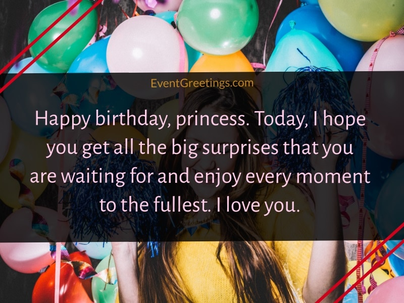 birthday messages for her