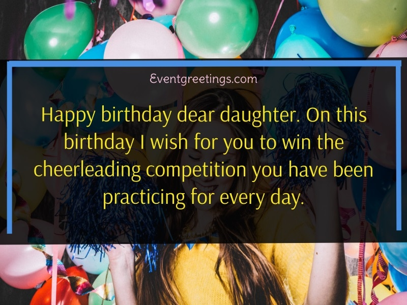 Inspirational Birthday Quotes for Daughter
