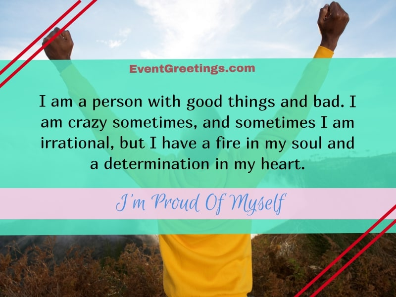 proud of myself motivation