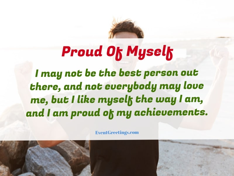proud of myself quotes