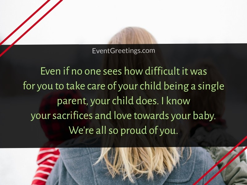quotes about single mom