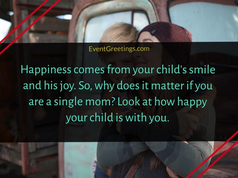 Quotes about Single Mother