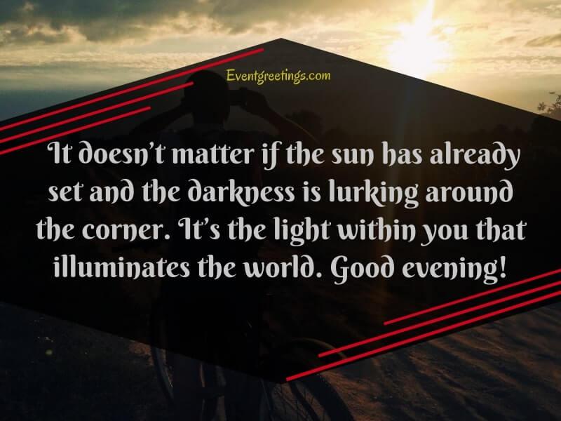 good-evening-quotes