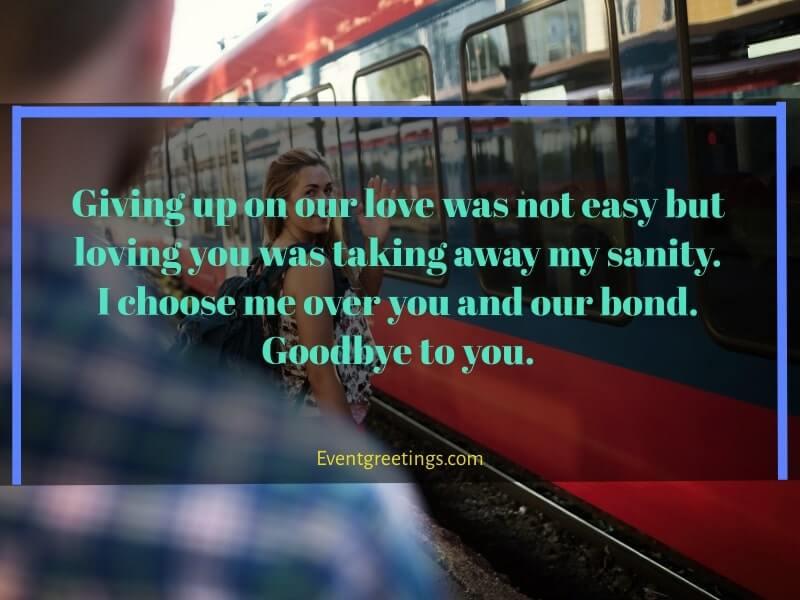 goodbye message for boyfriend