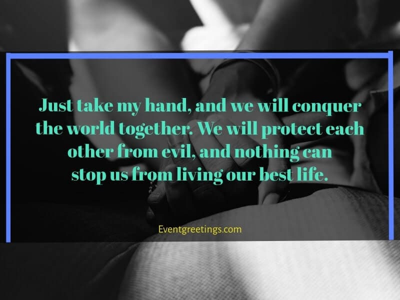 take my hands quotes