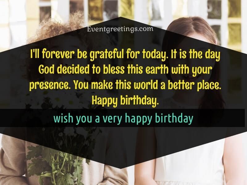 Best Birthday wishes for crush
