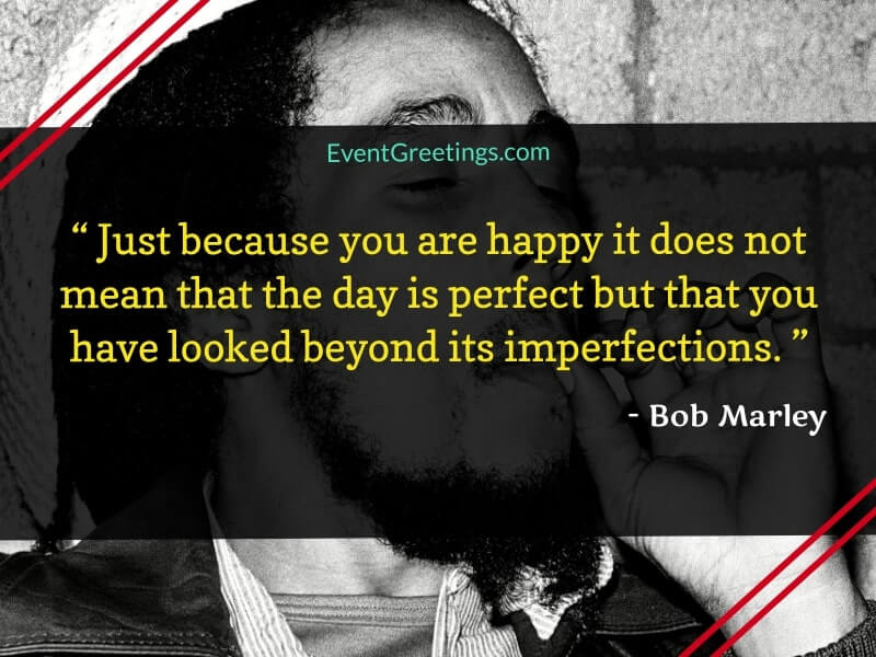 Bob Marley Quotes on Happiness